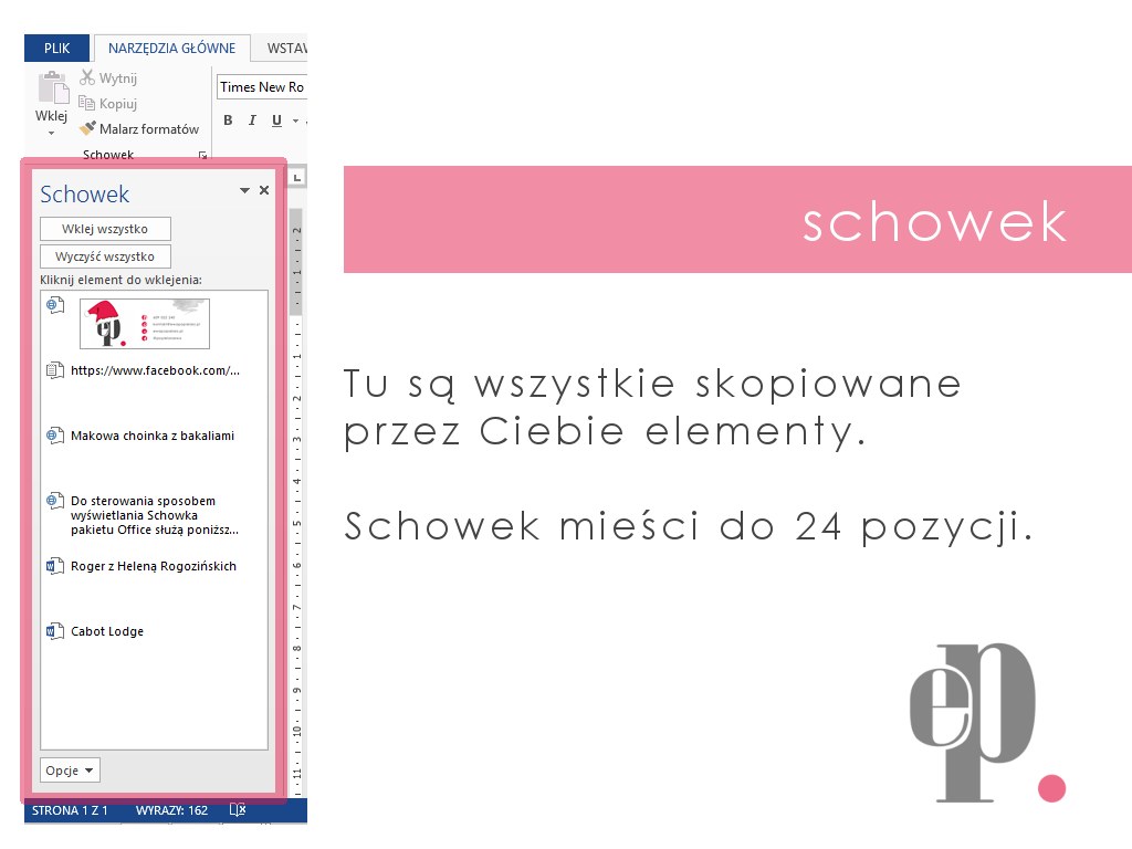 Word Kopiuj Wklej Schowek