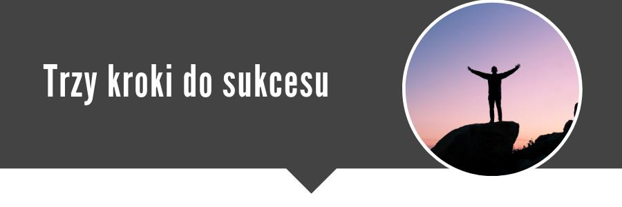 Jak zacząć pracę jako korektor Trzy zdania, które wstrzymują Cię przed działaniem Trzy kroki do sukcesu
